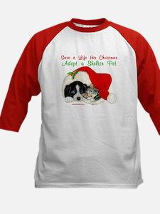 Christmas Puppy & Kitten Tee