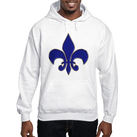 Fleur-de-lis Hooded Sweatshirt