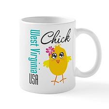 West Virginia Chick Mug