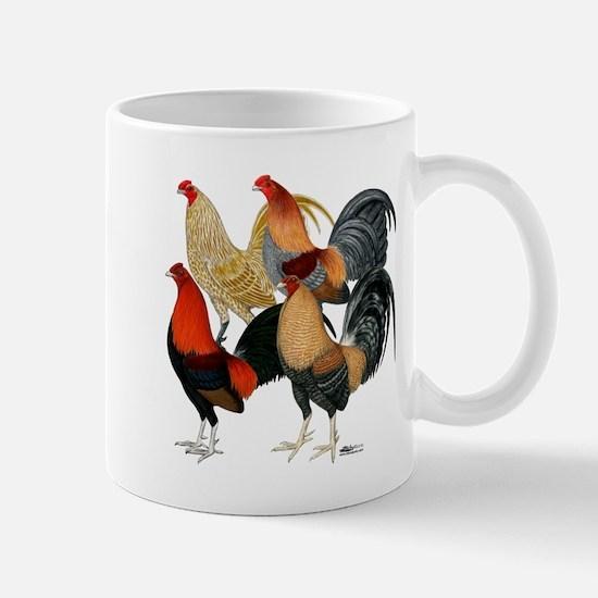 Four Gamecocks Mug