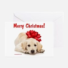 Christmas Lab Puppy Greeting Cards (Pk of 10)