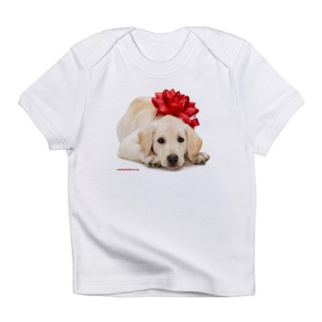 Christmas Lab Puppy Infant T-Shirt