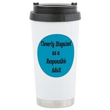 Cleverly Disguised as a Respo Travel Mug