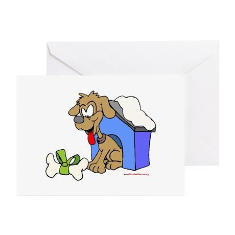 Christmas Dog House Greeting Cards (Pk of 10)