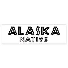 Alaska Native Bumper Bumper Sticker