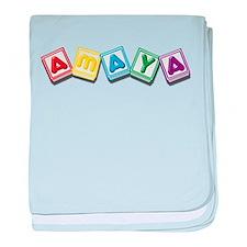 Amaya baby blanket