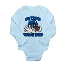 Future Football Legend Long Sleeve Infant Bodysuit