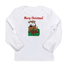 Christmas Puppy Long Sleeve Infant T-Shirt
