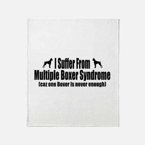 Boxer Throw Blanket