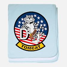 F-14D Super Tomcat baby blanket