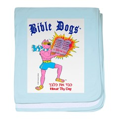BIBLE DOGS baby blanket