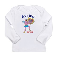 BIBLE DOGS Long Sleeve Infant T-Shirt