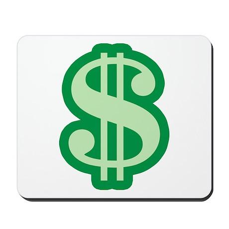 Dollar Sign Mousepad