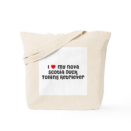 I * my Nova Scotia Duck Tolli Tote Bag