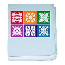 Hawaiian Quilt baby blanket