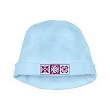 Hawaiian Quilt baby hat