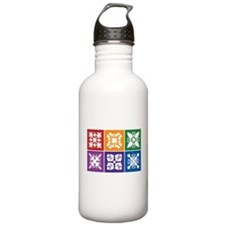 Hawaiian Quilt Water Bottle