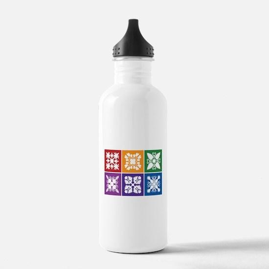 Hawaiian Quilt Water Bottle