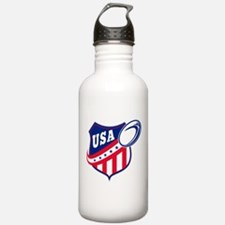 American rugby usa Water Bottle