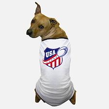 American rugby usa Dog T-Shirt