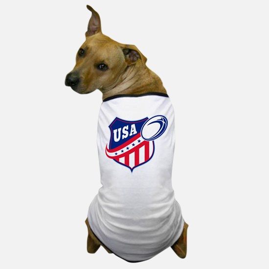 American rugby usa Dog T-Shirt