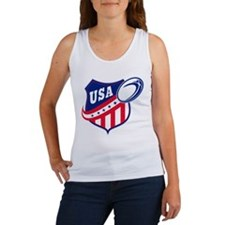 American rugby usa Women's Tank Top
