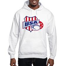 American rugby usa Hoodie