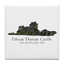 Eilean Donan Castle Tile Coaster