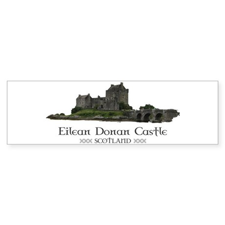 Eilean Donan Castle Sticker (Bumper)