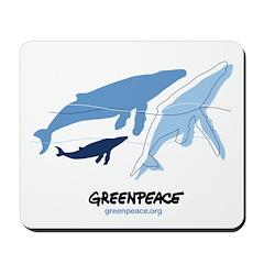 Whales Mousepad