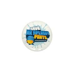 Mr Splashy Pants Mini Button (10 pack)