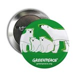 "Polar bear 2.25"" Button"