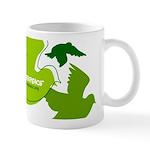 Green doves Mug