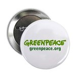 Greenpeace logo on white Button