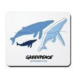 Whales Mousepad
