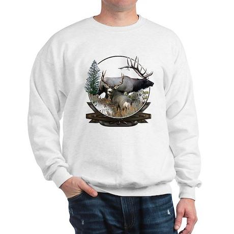 Big game elk and deer Sweatshirt