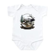 Big game elk and deer Infant Bodysuit