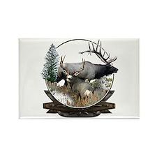 Big game elk and deer Rectangle Magnet