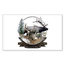 Big game elk and deer Decal