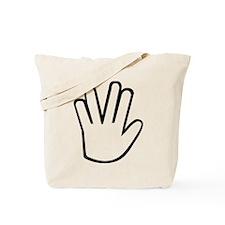 Vulcan greeting Tote Bag