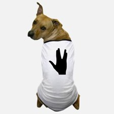 Vulcan greeting hand Dog T-Shirt