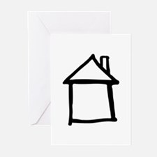 House Greeting Cards (Pk of 10)