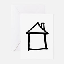 House Greeting Cards (Pk of 20)
