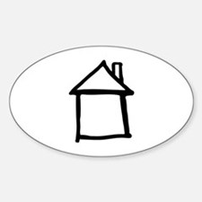 House Sticker (Oval)