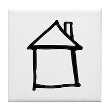 House Tile Coaster