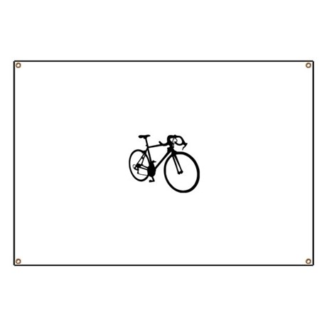 Racing bicycle Banner