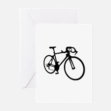 Racing bicycle Greeting Cards (Pk of 10)