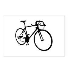 Racing bicycle Postcards (Package of 8)