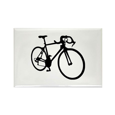 Racing bicycle Rectangle Magnet (10 pack)