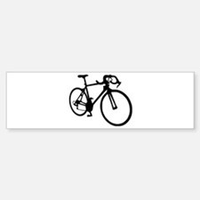 Racing bicycle Bumper Bumper Sticker